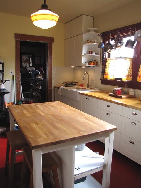 Stenstorp Kitchen Island White Oak