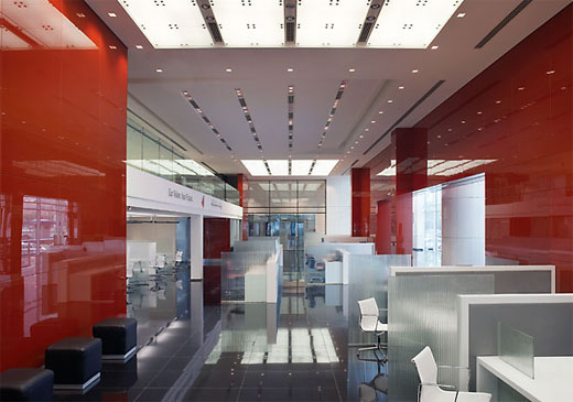 Modern commercial bank interior in abu dhabi classic home Home interior design abu dhabi