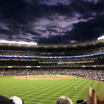 October in Yankee Stadium