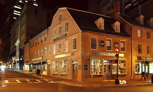 Old Corner Bookstore - Boston