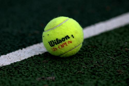 Tennis Ball by Atticus Thomson