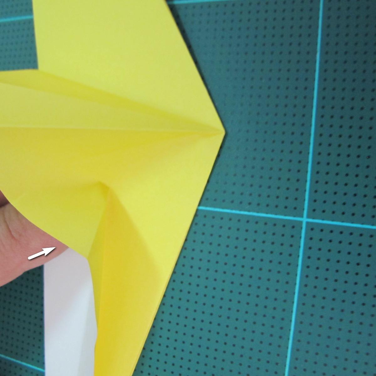 วิธีการพับกระดาษรูปม้าน้ำ (Origami Seahorse) 021