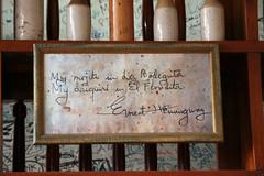 La Bodeguita Ernest Hemingway