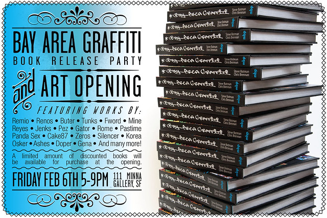 Bay Area Graffiti book release party & art opening