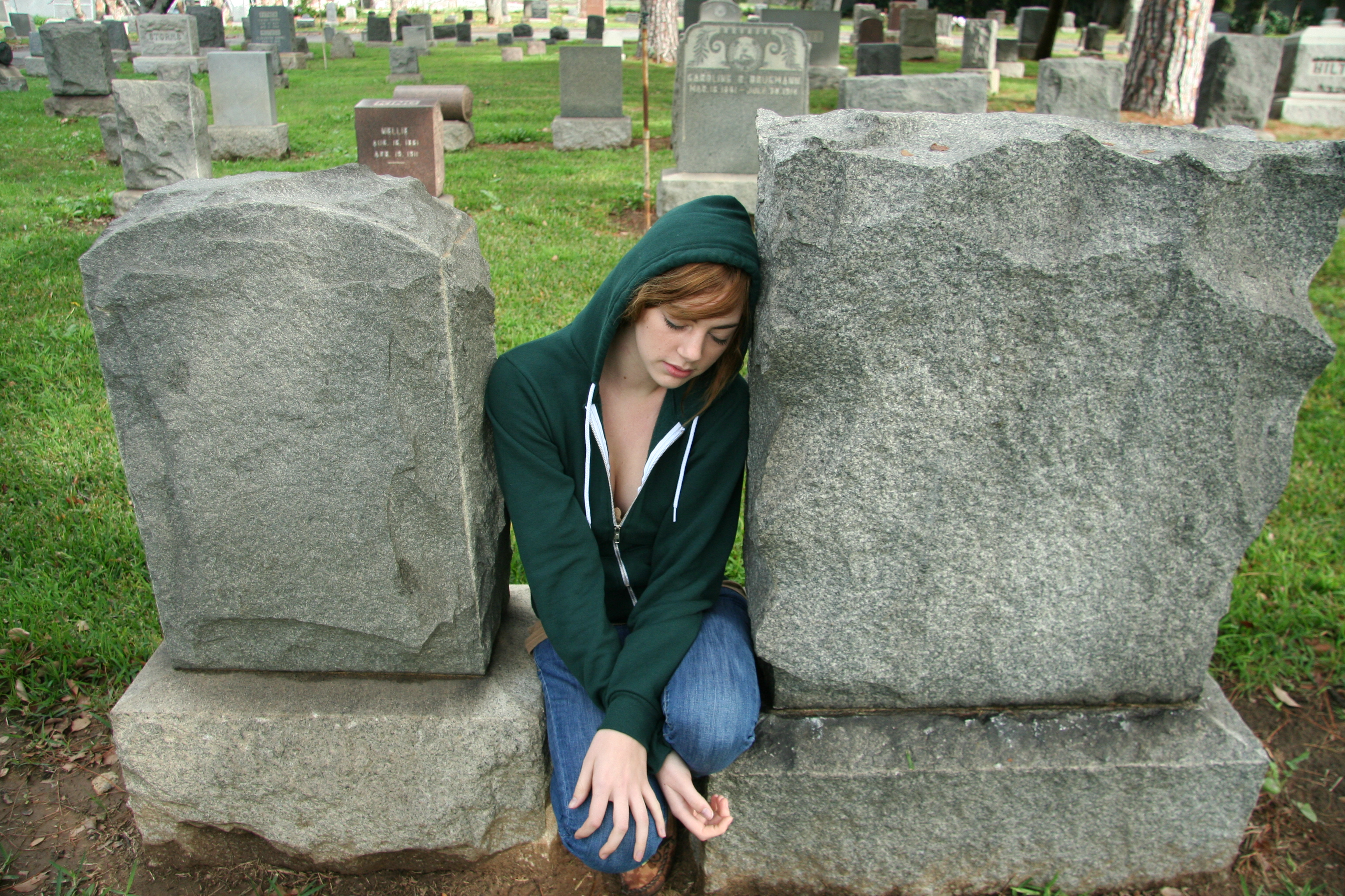 Laura Rests Amongst the Dead