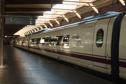 AVE Class 103 at Madrid Atocha