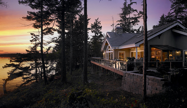 39902 Custom Lindal Home In Washington State Flickr