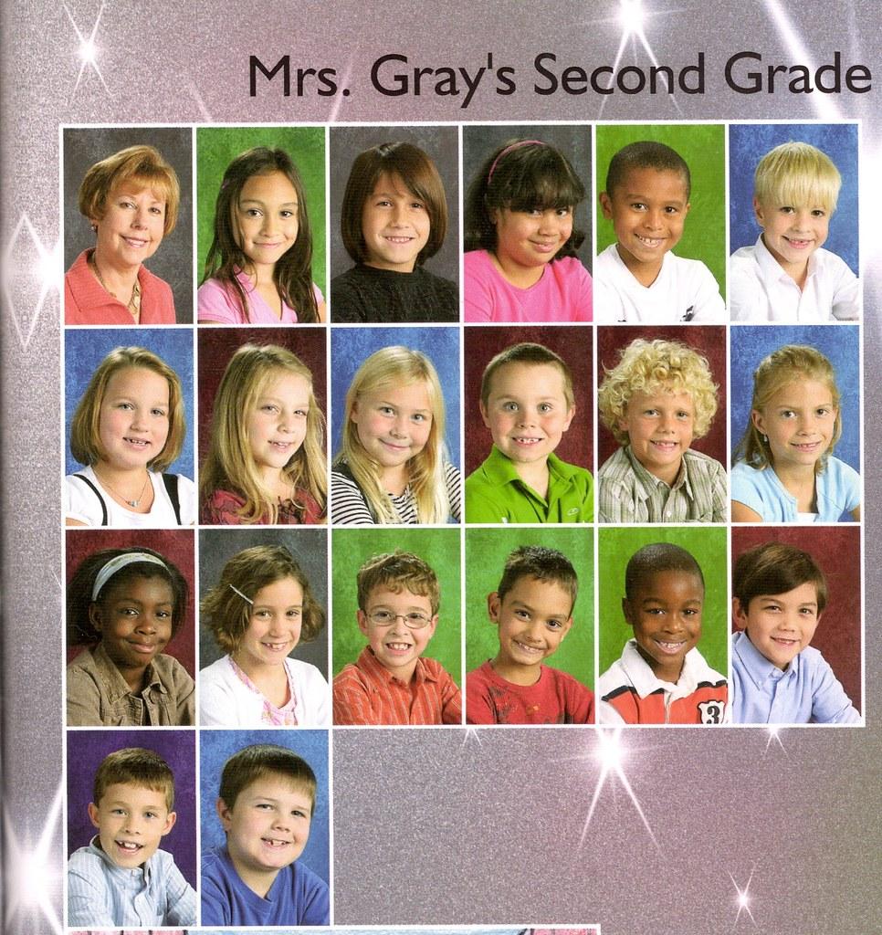 Ethan's second grade class
