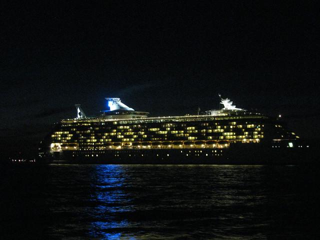 Cruise Ship At Night  Flickr  Photo Sharing