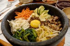 noodle(0.0), noodle soup(0.0), chow mein(0.0), udon(0.0), meal(1.0), bibimbap(1.0), produce(1.0), food(1.0), dish(1.0), cuisine(1.0), nabemono(1.0),