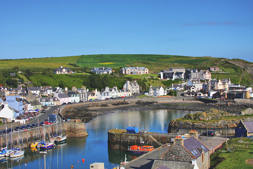 Portpatrick on the coast of South West Scotland Visitor Information