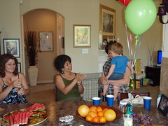 Aiden's First Birthday Party