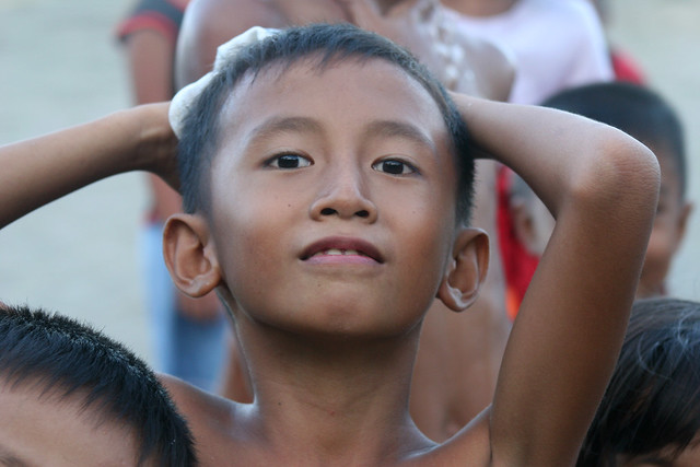Boy in the Phillipines.