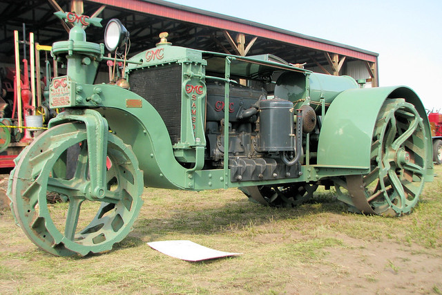 Antique Gmc Tractors : Gmc samson tractor flickr photo sharing