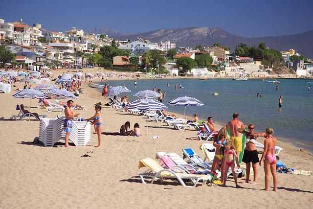 Altinkum Turkey  city images : Beach Altinkum, Turkey | Flickr Photo Sharing!
