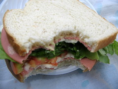 submarine sandwich(0.0), piadina(0.0), breakfast sandwich(0.0), blt(1.0), sandwich(1.0), meal(1.0), lunch(1.0), breakfast(1.0), ham and cheese sandwich(1.0), muffuletta(1.0), ciabatta(1.0), food(1.0), dish(1.0), cuisine(1.0),