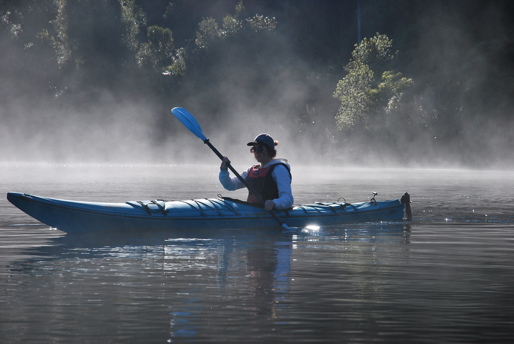 Franz Josef - Lake Mapourika - Kayak - West Coast - New Zealand