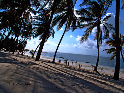 beach kenya bamburi