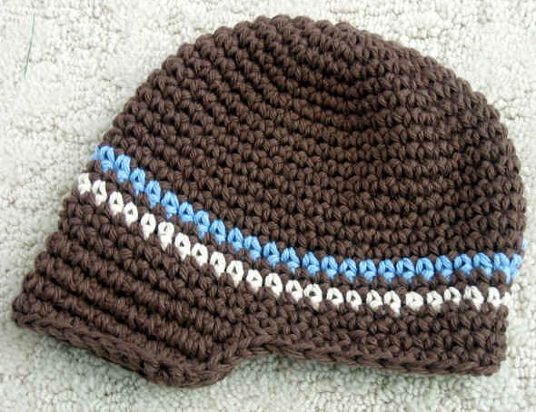 Knitting Pattern Central Baby Hats : NEWBORN BABY HAT PATTERN - FREE PATTERNS