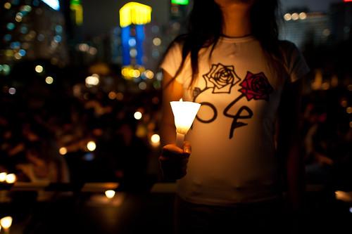 Tiananmen Square Massacre Candlelight Vigil