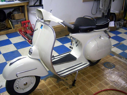 Vespa GL Assembly #15