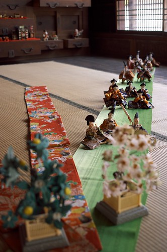 Hina doll in Takatori town (Nara) No.2.