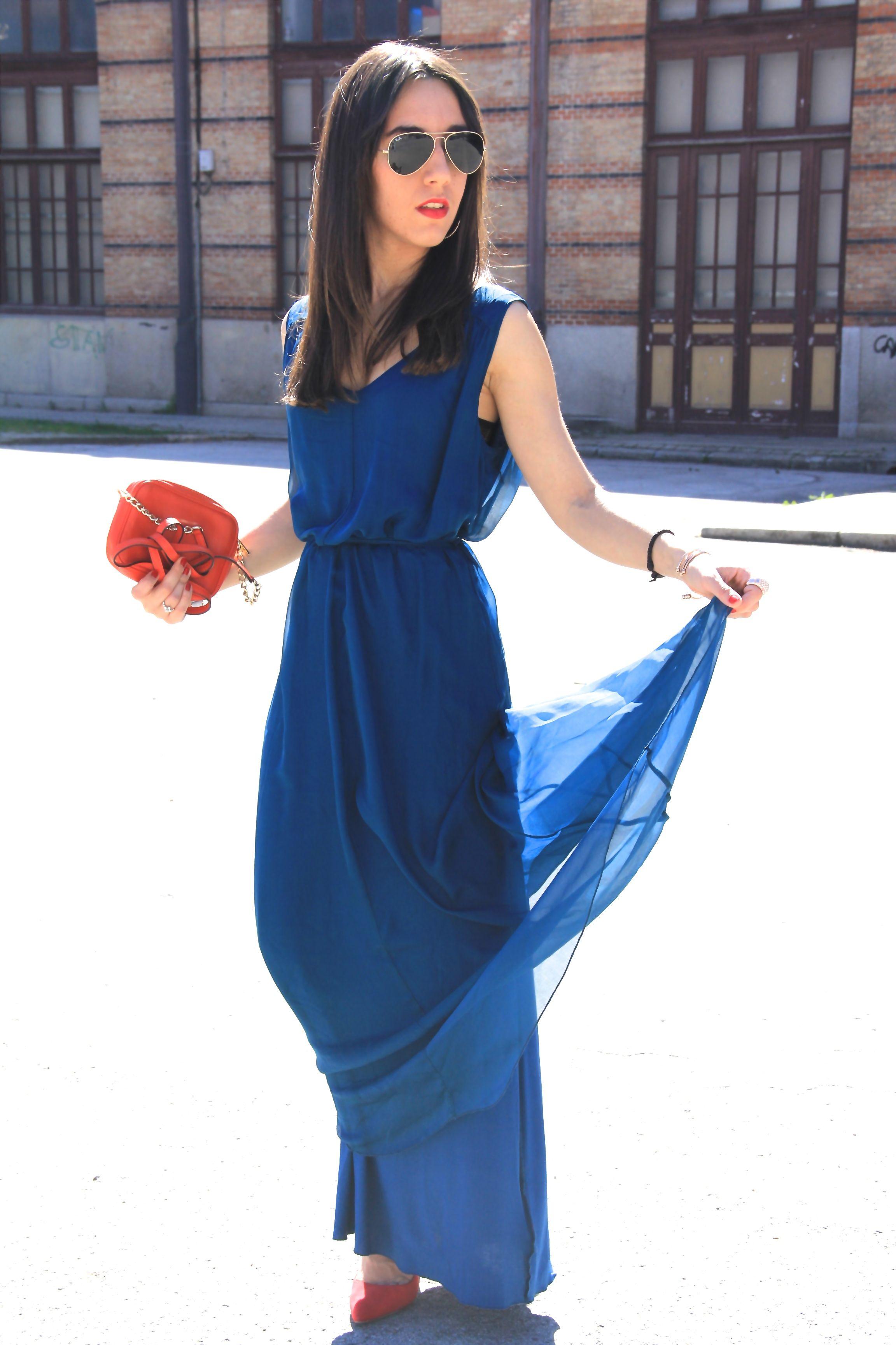 1ce9f33df Complementos para un vestido azul petroleo – Vestidos de mujer