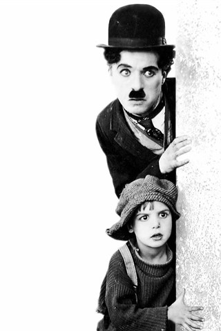 Charlie Chaplin iPhone Wallpaper