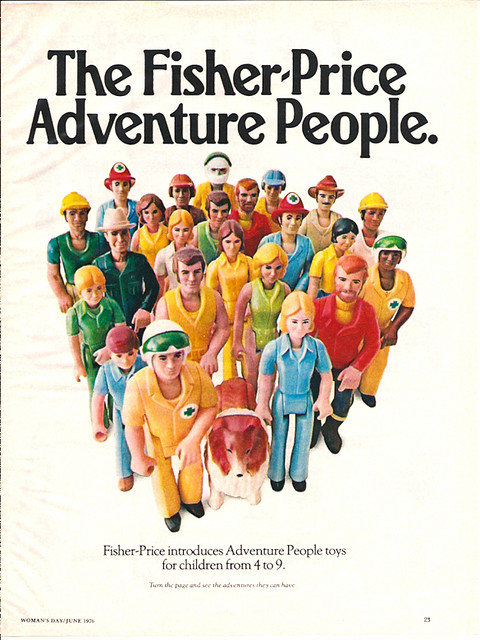 Fisher-Price Adventure People 1976