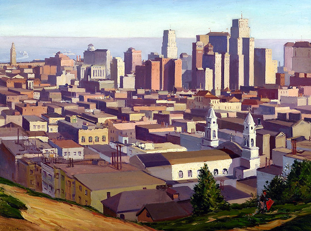 San Francisco depuis Russian Hill par Ray Strong.