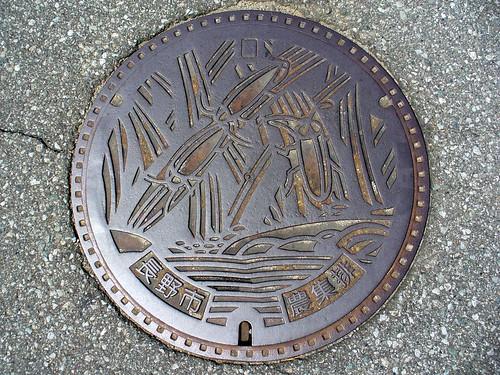 Nagano city,Nagano pref manhole cover(長野県長野市のマンホール)