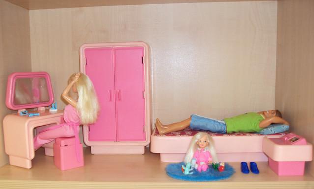 Camera da letto vintage, Barbie  Flickr - Photo Sharing!