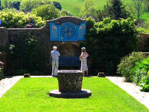 The Zodiac Clock at Snowshill Manor in the Cotswolds