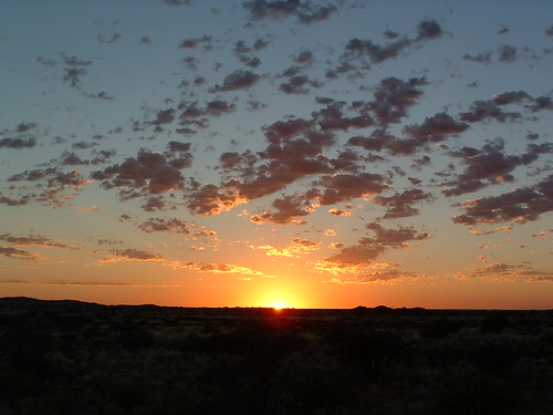africa sunrise landscape southafrica dawn northerncape