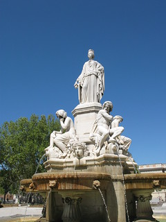 Image of Fontaine Pradier. 2009 nîmes