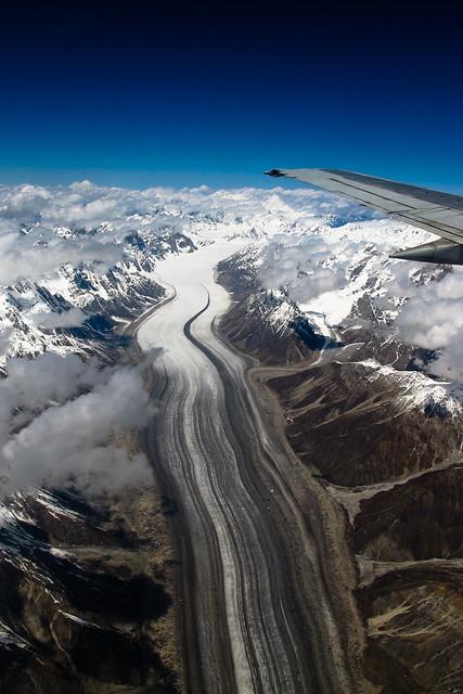 Glacial superhighway