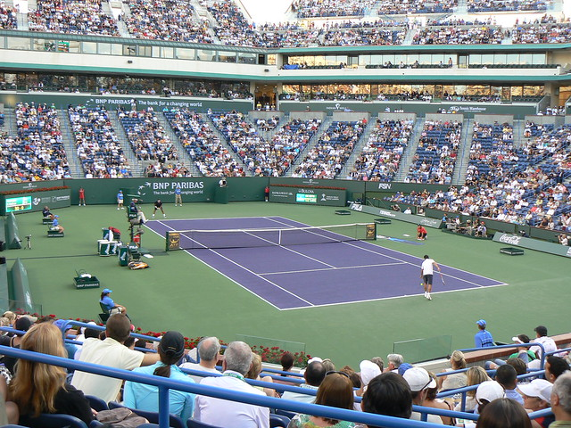 Great Stadium At Indian Wells Flickr Photo Sharing