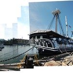 Ironsides in charlestown square