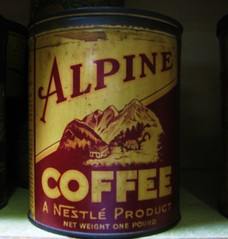 Alpine Coffee Coffee Tin