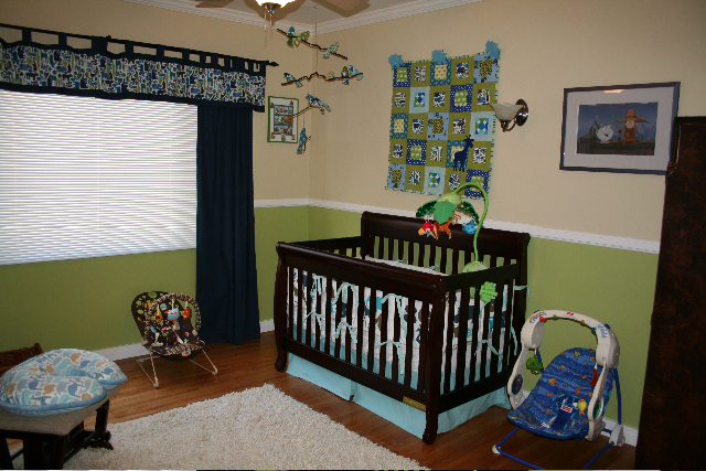Blue/Green Boy Nursery | Flickr - Photo Sharing!