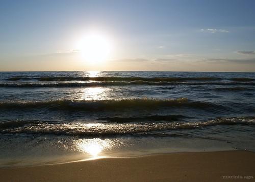 sunset sky sun lake beach nature michigan greatlakes sonydslra350
