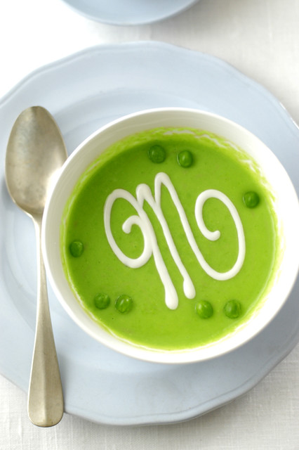M peas soup