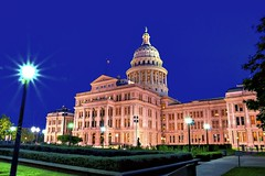 Darkness on the Texas Capitol by Jim Nix / Nomadic Pursuits