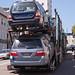Auto Transport Trailer Fail in Russian Hill