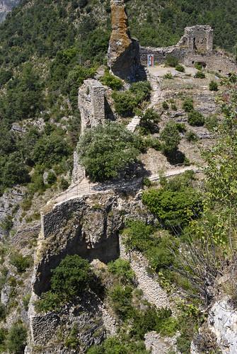 Château de Peyrelade (ce qu'il en reste)