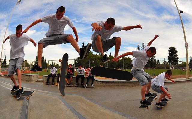Josh Varial Heel Skateboarding Sequence