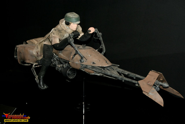 star wars the exhibition madrid moto jet speeder bike 2 flickr photo sharing. Black Bedroom Furniture Sets. Home Design Ideas