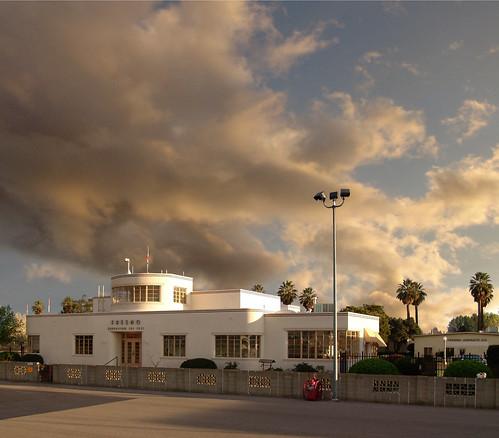 sunset building airport terminal fresno chandler executive