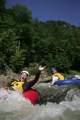 canoe(0.0), kayak(0.0), kayaking(0.0), whitewater kayaking(0.0), canoeing(0.0), rafting(0.0), adventure(1.0), vehicle(1.0), tubing(1.0), sports(1.0), rapid(1.0), river(1.0), recreation(1.0), outdoor recreation(1.0), boating(1.0), extreme sport(1.0), water sport(1.0), boat(1.0), raft(1.0),