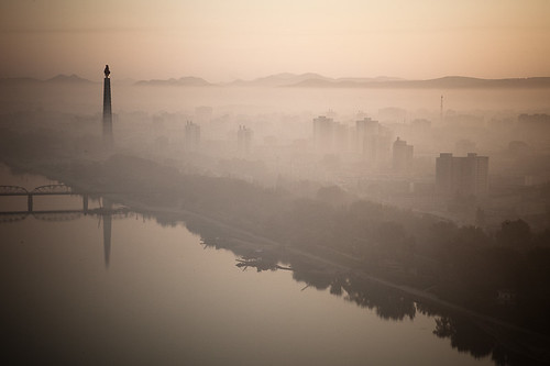 street sunrise canon sketchbook explore northkorea pyongyang explored 朝鮮 北朝鮮 北韓 5dmkii northkoreatravel
